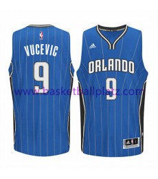 Orlando Magic Trikot Herren 15-16 Nikola Vucevic 9# Road Basketball Trikot Swingman..