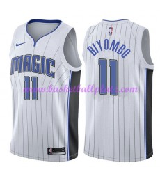 Orlando Magic Trikot Herren 2018-19 Bismack Biyombo 11# Association Edition Basketball Trikots NBA S..