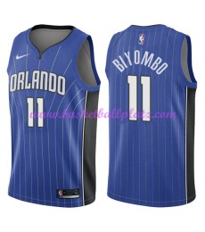 Orlando Magic Trikot Herren 2018-19 Bismack Biyombo 11# Icon Edition Basketball Trikots NBA Swingman..