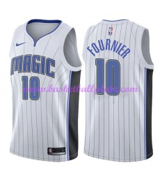 Orlando Magic Trikot Herren 2018-19 Evan Fournier 10# Association Edition Basketball Trikots NBA Swi..
