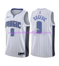 Orlando Magic Trikot Herren 2018-19 Nikola Vucevic 9# Association Edition Basketball Trikots NBA Swi..