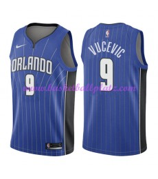 Orlando Magic Trikot Herren 2018-19 Nikola Vucevic 9# Icon Edition Basketball Trikots NBA Swingman..
