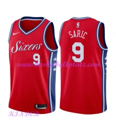 Philadelphia 76ers NBA Trikot Kinder 2018-19 Dario Saric 9# Statement Edition Basketball Trikots Swi..