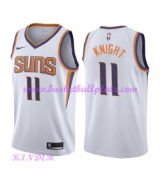 Phoenix Suns NBA Trikot Kinder 2018-19 Brandon Knight 11# Association Edition Basketball Trikots Swi..