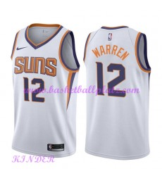 Phoenix Suns NBA Trikot Kinder 2018-19 T.J. Warren 12# Association Edition Basketball Trikots Swingm..
