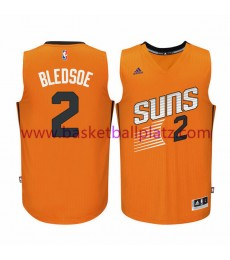 Phoenix Suns Trikot Herren 15-16 Eric Bledsoe 2# Orange Alternate Basketball Trikot Swingman