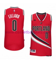 Portland Trail Blazers Trikot Kinder 15-16 Damian Lillard 0# Alternate Basketball Trikot Swingman..