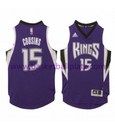 Sacramento Kings Trikot Kinder 15-16 DeMarcus Cousins 15# Road Basketball Trikot Swingman..
