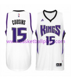 Sacramento Kings Trikot Herren 15-16 DeMarcus Cousins 15# Home Basketball Trikot Swingman