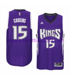 Sacramento Kings Trikot Herren 15-16 DeMarcus Cousins 15# Road Basketball Trikot Swingman
