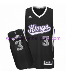 Sacramento Kings Trikot Herren 15-16 Marco Belinelli 3# Alternate Basketball Trikot Swingman