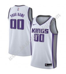 Sacramento Kings Trikot Herren 2018-19 Association Edition Basketball Trikots NBA Swingman..
