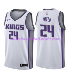 Sacramento Kings Trikot Herren 2018-19 Buddy Hield 24# Association Edition Basketball Trikots NBA Sw..