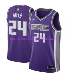 Sacramento Kings Trikot Herren 2018-19 Buddy Hield 24# Icon Edition Basketball Trikots NBA Swingman..