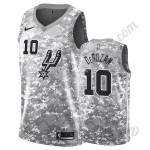 San Antonio Spurs Trikot Kinder 2019-20 DeMar DeRozan 10# Camo Earned Edition NBA Trikots Swingman