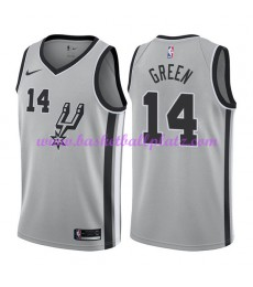 San Antonio Spurs Trikot Herren 2018-19 Danny Green 14# Statement Edition Basketball Trikots NBA Swi..