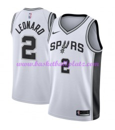 San Antonio Spurs Trikot Herren 2018-19 Kawhi Leonard 2# Association Edition Basketball Trikots NBA ..
