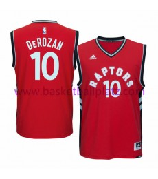 Toronto Raptors Trikot Kinder 15-16 DeMar DeRozan 10# Road Basketball Trikot Swingman..