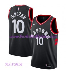 Toronto Raptors NBA Trikot Kinder 2018-19 DeMar DeRozan 10# Statement Edition Basketball Trikots Swi..