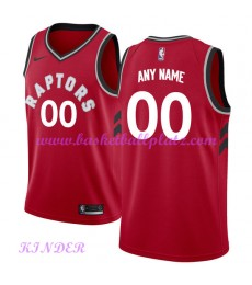 Toronto Raptors NBA Trikot Kinder 2018-19 Icon Edition Basketball Trikots Swingman..
