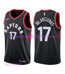 Toronto Raptors NBA Trikot Kinder 2018-19 Jonas Valanciunas 17# Statement Edition Basketball Trikots..