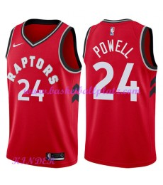 Toronto Raptors NBA Trikot Kinder 2018-19 Norman Powell 24# Icon Edition Basketball Trikots Swingman..