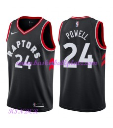 Toronto Raptors NBA Trikot Kinder 2018-19 Norman Powell 24# Statement Edition Basketball Trikots Swi..