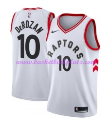 Toronto Raptors Trikot Herren 2018-19 DeMar DeRozan 10# Association Edition Basketball Trikots NBA S..