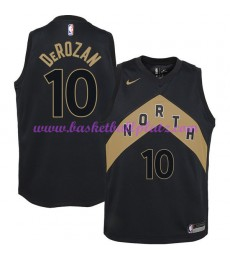 Toronto Raptors Trikot Herren 2018-19 DeMar DeRozan 10# City Edition Basketball Trikots NBA Swingman..