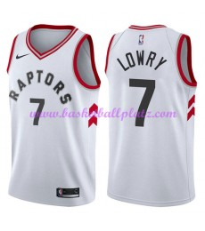 Toronto Raptors Trikot Herren 2018-19 Kyle Lowry 7# Association Edition Basketball Trikots NBA Swing..