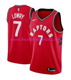 Toronto Raptors Trikot Herren 2018-19 Kyle Lowry 7# Icon Edition Basketball Trikots NBA Swingman