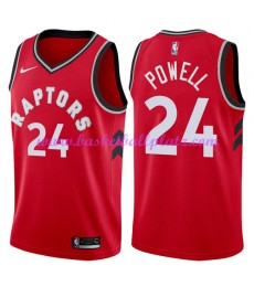 Toronto Raptors Trikot Herren 2018-19 Norman Powell 24# Icon Edition Basketball Trikots NBA Swingman..