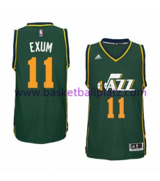 Utah Jazz Trikot Herren 15-16 Dante Exum 11# Alternatre Basketball Trikot Swingman..
