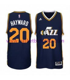 Utah Jazz Trikot Herren 15-16 Gordon Hayward 20# Road Basketball Trikot Swingman