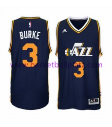 Utah Jazz Trikot Herren 15-16 Trey Burke 3# Road Basketball Trikot Swingman