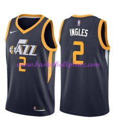 Utah Jazz Trikot Herren 2018-19 Joe Ingles 2# Icon Edition Basketball Trikots NBA Swingman..