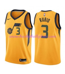 Utah Jazz Trikot Herren 2018-19 Ricky Rubio 3# Statement Edition Basketball Trikots NBA Swingman..
