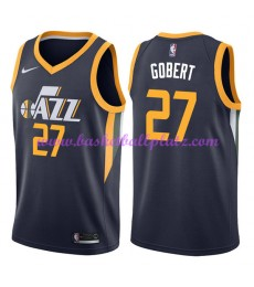 Utah Jazz Trikot Herren 2018-19 Rudy Gobert 27# Icon Edition Basketball Trikots NBA Swingman..