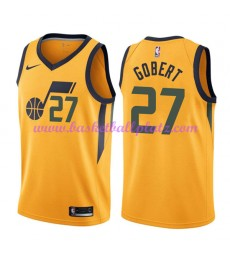Utah Jazz Trikot Herren 2018-19 Rudy Gobert 27# Statement Edition Basketball Trikots NBA Swingman..