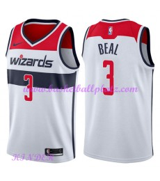 Washington Wizards NBA Trikot Kinder 2018-19 Bradley Beal 3# Association Edition Basketball Trikots ..