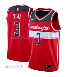 Washington Wizards NBA Trikot Kinder 2018-19 Bradley Beal 3# Icon Edition Basketball Trikots Swingma..