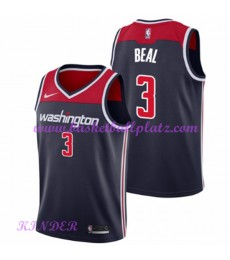 Washington Wizards NBA Trikot Kinder 2018-19 Bradley Beal 3# Statement Edition Basketball Trikots Sw..