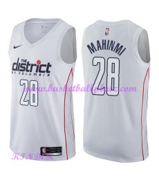 Washington Wizards NBA Trikot Kinder 2018-19 Ian Mahinmi 28# City Edition Basketball Trikots Swingma..