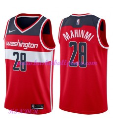 Washington Wizards NBA Trikot Kinder 2018-19 Ian Mahinmi 28# Icon Edition Basketball Trikots Swingma..
