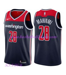 Washington Wizards NBA Trikot Kinder 2018-19 Ian Mahinmi 28# Statement Edition Basketball Trikots Sw..
