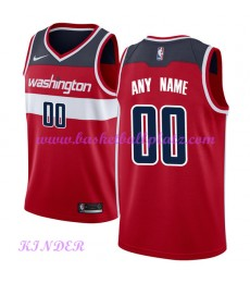 Washington Wizards NBA Trikot Kinder 2018-19 Icon Edition Basketball Trikots Swingman..