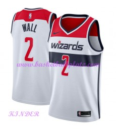 Washington Wizards NBA Trikot Kinder 2018-19 John Wall 2# Association Edition Basketball Trikots Swi..