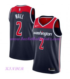 Washington Wizards NBA Trikot Kinder 2018-19 John Wall 2# Statement Edition Basketball Trikots Swing..