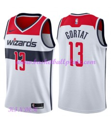 Washington Wizards NBA Trikot Kinder 2018-19 Marcin Gortat 13# Association Edition Basketball Trikot..