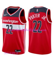 Washington Wizards NBA Trikot Kinder 2018-19 Otto Porter Jr. 22# Icon Edition Basketball Trikots Swi..